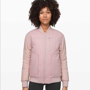 NWT Lululemon wool bomber jacket